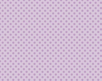 Small Dots Tone on Tone Lavender by Riley Blake Designs