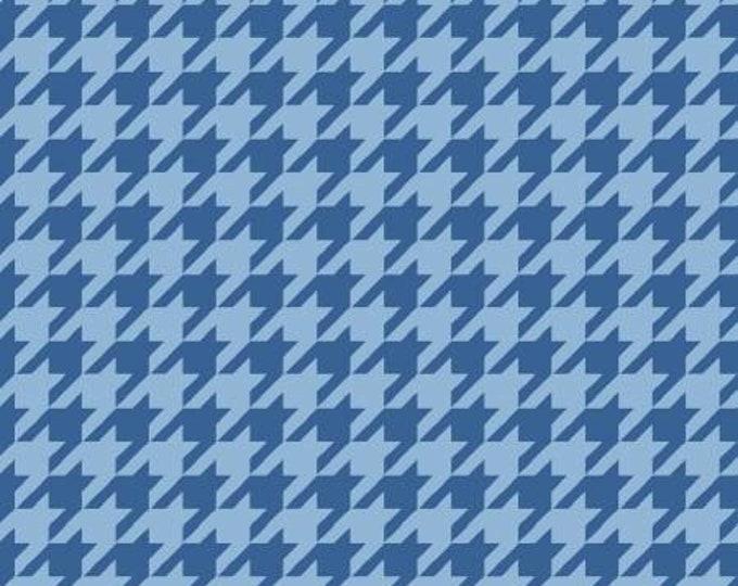 Kimberbell Basics Blue Tonal Houndstooth