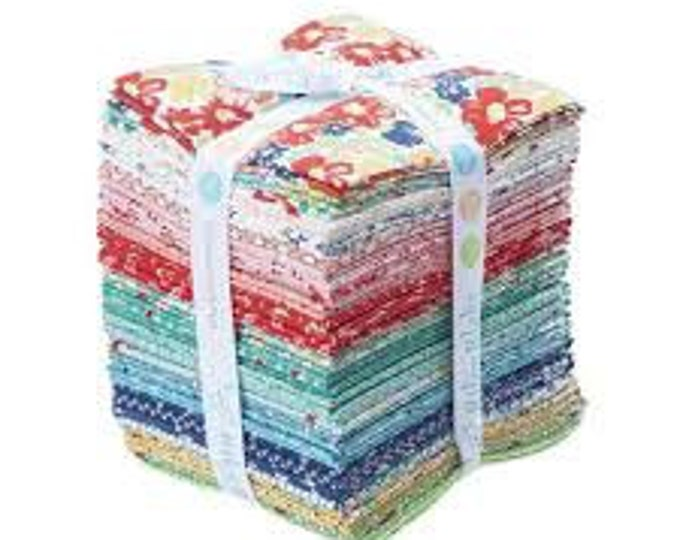 Featured listing image: Vintage Happy 2 Fat Quarter Bundle by Lori Holt for Riley Blake Designs