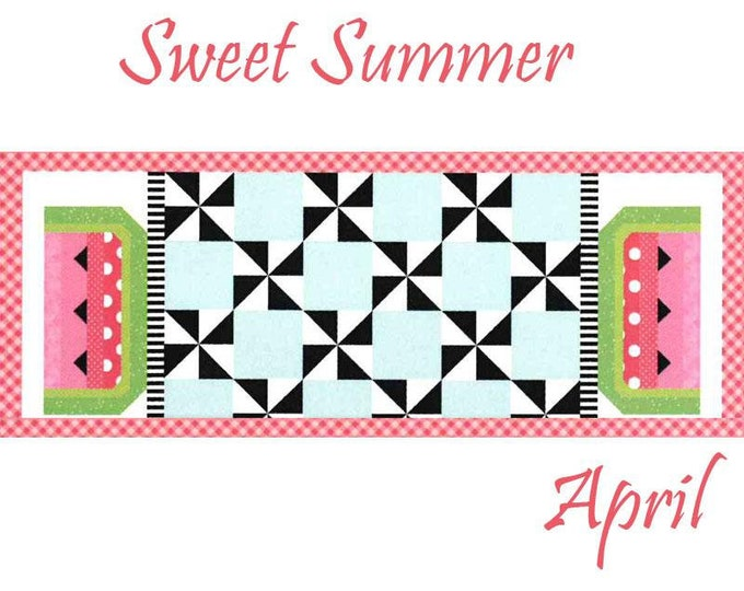 Featured listing image: Free Shipping! Riley Blake Table Runner of the Month Kit - April 2019