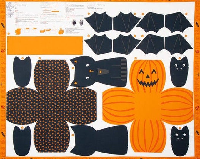 Ghouls & Goodies Mulit Halloween Cut and Sew Panel