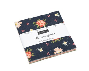 FREE SHIPPING Harper's Garden Charm Pack by Sherri & Chelsi for Moda
