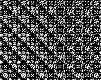 Kimberbell Basics Black Dotted Circles