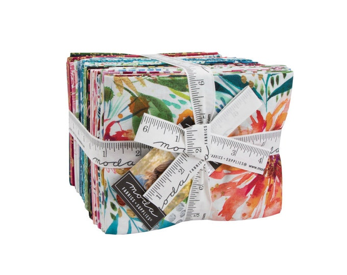 Moody Bloom Fat Quarter Bundle by Create Joy Project for Moda