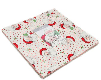 FREE SHIPPING Swell Christmas Layer Cake by Urban Chiks for Moda