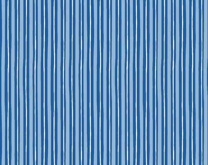 Kimberbell Basics Blue Little Stripe