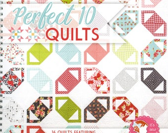 Perfect 10 Quilts Book by It's Sew Emma