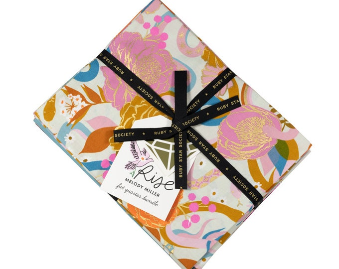 Rise & Spark Fat Quarter Bundle by Ruby Star Society for Moda