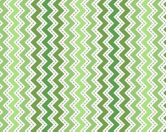 Kimberbell Basics Green Zig Zags