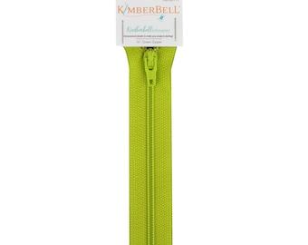 "Kimberbellishments 16"" Green Zipper"