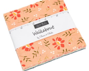 FREE SHIPPING Walkabout Charm Pack by Sherri & Chelsi for Moda