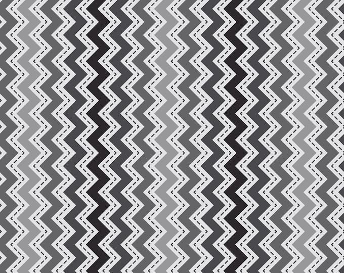 Kimberbell Basics Grey/Black Zig Zag