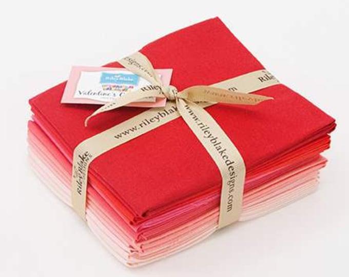 Confetti Cottons Valentine Fat Quarter Bundle by Riley Blake Designs