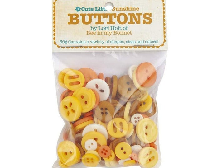 Cute Little Buttons - Sunshine - by Lori Holt