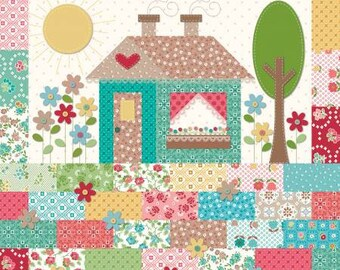Granny Chic House Pillow Kit by Lori Holt for Riley Blake Designs