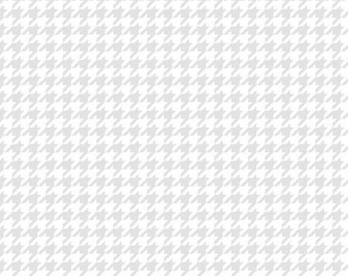 Kimberbell Basics White on White Houndstooth