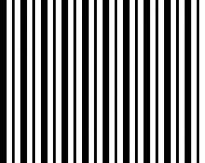 Kimberbell Basics Black Mini Awning Stripe