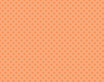 Small Dots Tone on Tone Orange by Riley Blake Designs