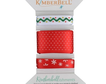 Kimberbellishments Christmas Ribbon Set