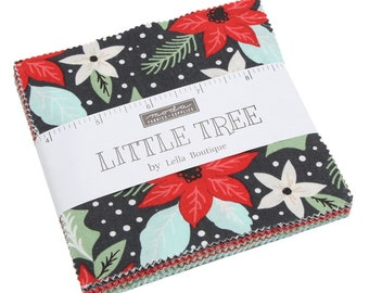 FREE SHIPPING Little Tree Charm Pack by Lella Boutique for Moda