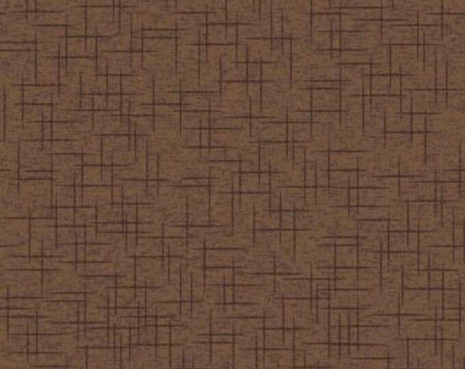 Kimberbell Basics Brown Linen Texture