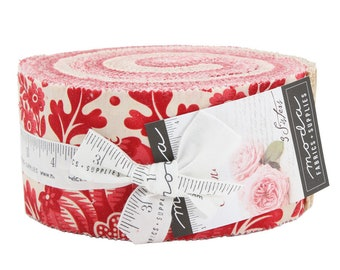 FREE SHIPPING Cinnaberry Jelly Roll by 3 Sisters for Moda