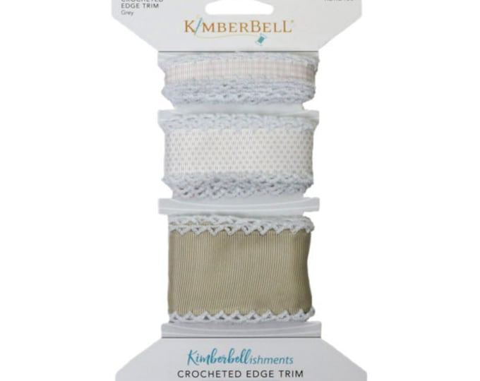 Crocheted Edge Trim - White by Kimberbell