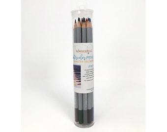 Watercolor Pencil Set - Jewel Tones by Kimberbell
