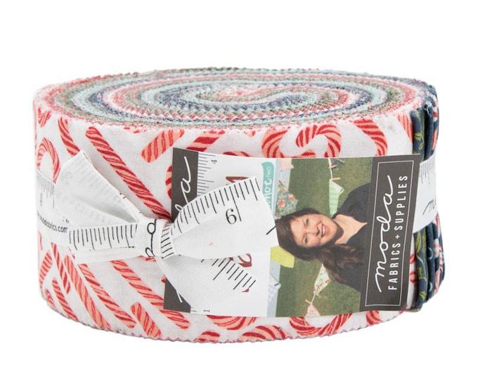 To Be Jolly Jelly Roll by One Canoe Two for Moda