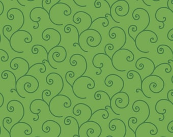 Kimberbell Basics Green Scroll