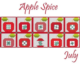 Free Shipping! Riley Blake Table Runner of the Month Kit - July 2019