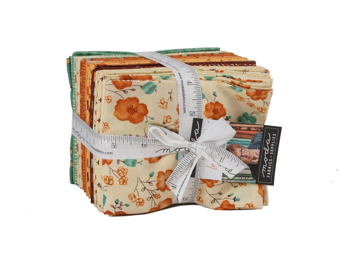 Last Bloom Fat Quarter Bundle by Sandy Gervais for Moda