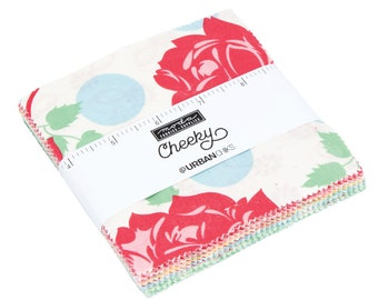 FREE SHIPPING Cheeky Charm Pack by Urban Chiks for Moda