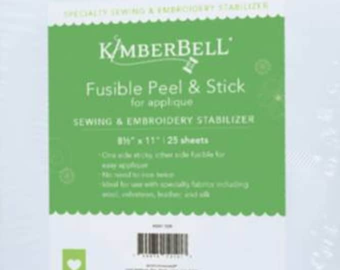 """Fusible Peel & Stick Stabilizer (8 1/2 x 11"""" sheets) by Kimberbell"""