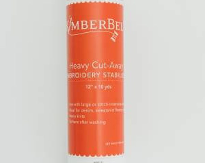 Heavy Cut-Away Embroidery Stabilizer by Kimberbell