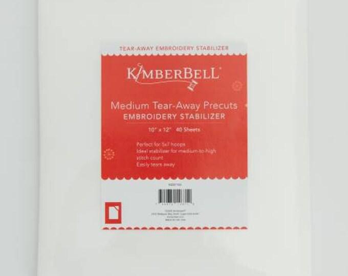 Medium Tear-Away Precuts Embroidery Stabilizer by Kimberbell