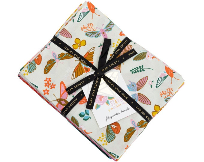 Stay Gold Fat Quarter Bundle by Melody Miller for Ruby Star Society