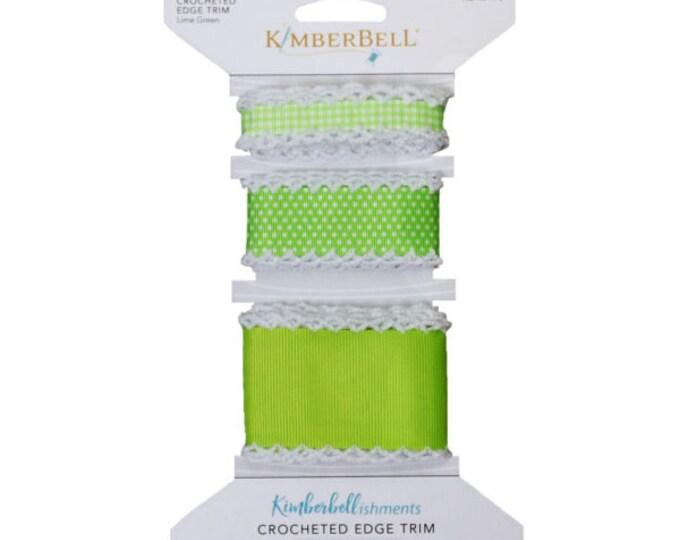 Crocheted Edge Trim - Green by Kimberbell