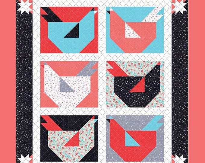 Chicken Little Quilt Pattern from Gingiber