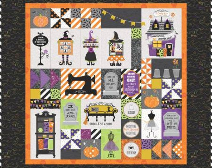 Candy Corn Quilt Shoppe Machine Embroidery Version by Kimberbell