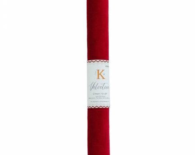 """Velveteen 12 x 24"""" (Crimson) by Kimberbell"""