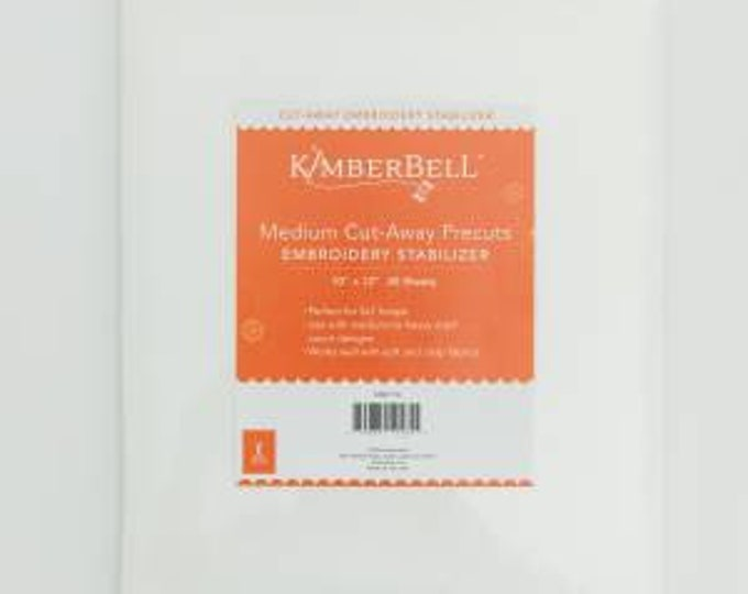 Medium Cut-Away Precuts Embroidery Stabilizer by Kimberbell