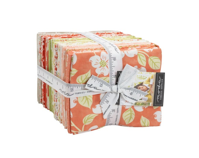 Strawberries & Rhubarb Fat Quarter Bundle by Fig Tree and Co for Moda