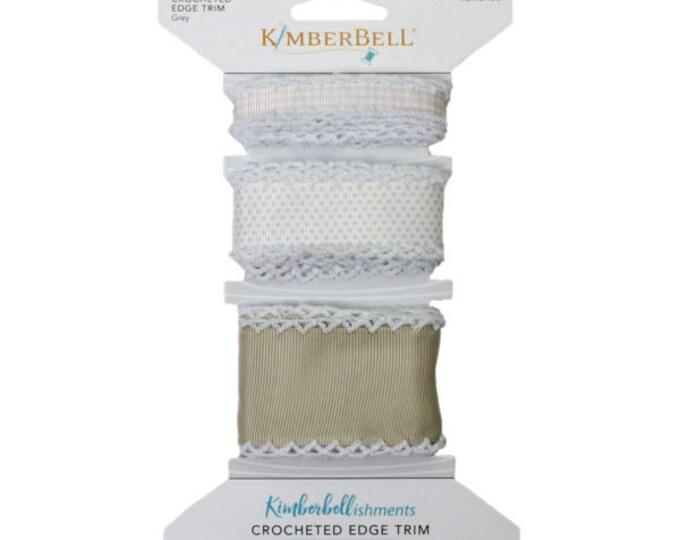 Crocheted Edge Trim - White by Kimberbell
