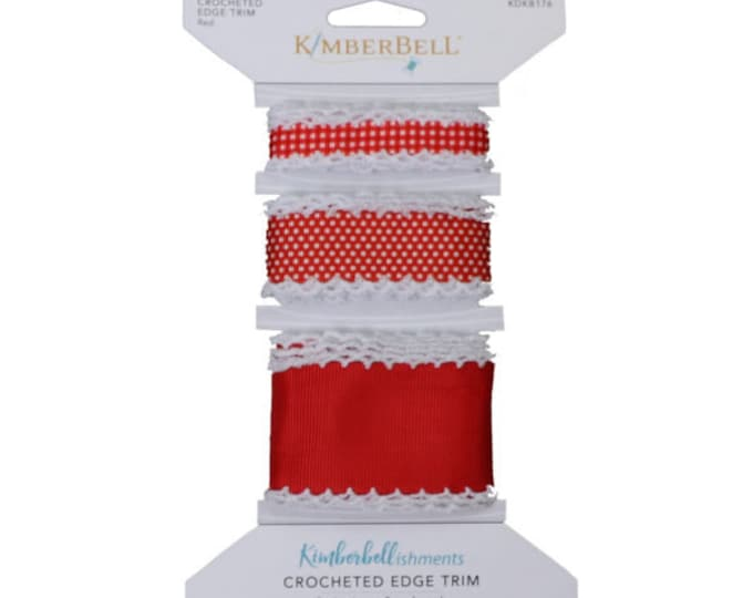 Crocheted Edge Trim - Red by Kimberbell