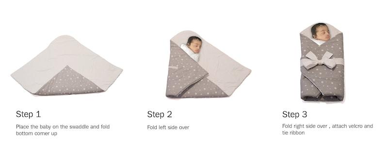 Newborn Blanket Swaddling Wrap Baby Blanket Baby Shower Gift Cotton Receiving Blanket Preemie Sleep Sack Sleeping Wrap Swaddle Blanket
