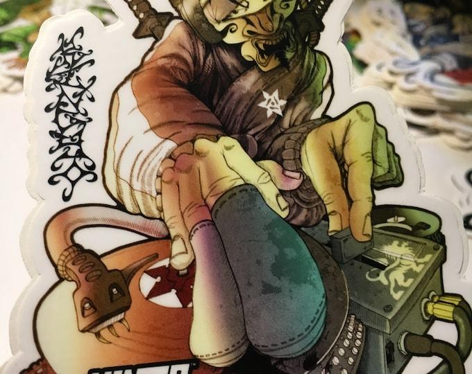 Featured listing image: DJ Sticker