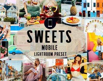 Colorful Mobile Lightroom Presets, Instagram Presets, Bright presets, Vibrant preset for Bloggers, Summer presets, Editing Filter, Presets