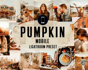 Fall Mobile Lightroom Presets, Warm presets, Mobile Lightroom presets, Instagram filter, Presets Mobile, Presets for Blogger, Presets