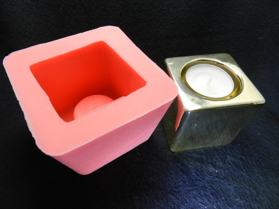 1 Muschel Kerzenständer Gießform